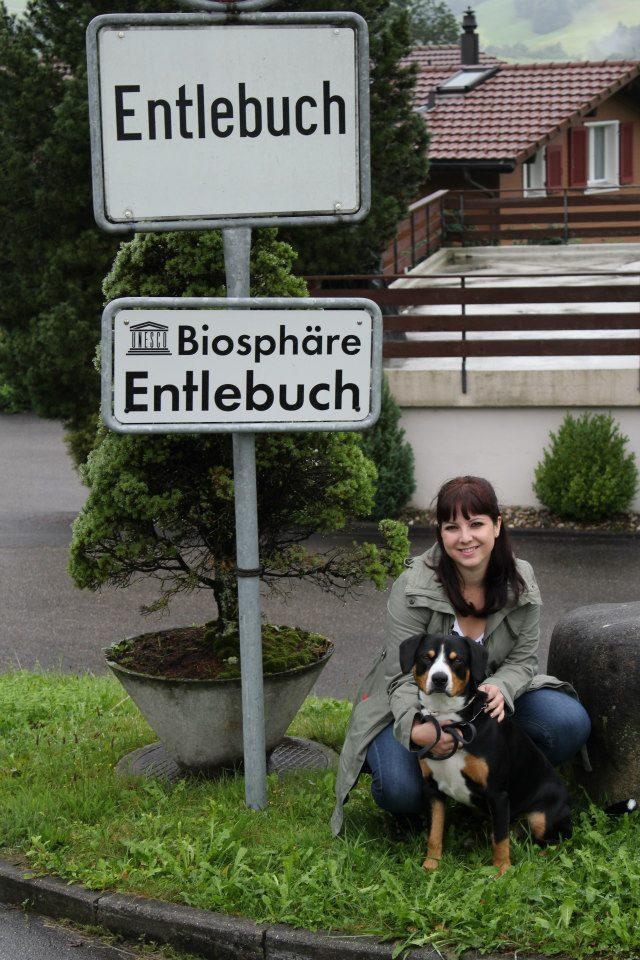 Faïgo et moi en visite à Entlebuch, Suisse