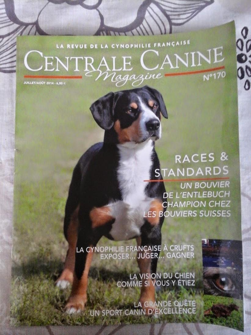 Couverture de la Centrale Canine 2014